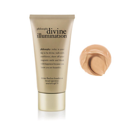 philosophy divine flawless foundation broad-spectrum uva/uvb spf 50