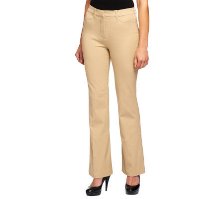 Isaac Mizrahi Live! Icon Grace 24/7 Stretch Pants