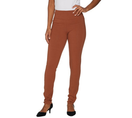 Women with Control Petite Slim Leg Contour Waist Pants