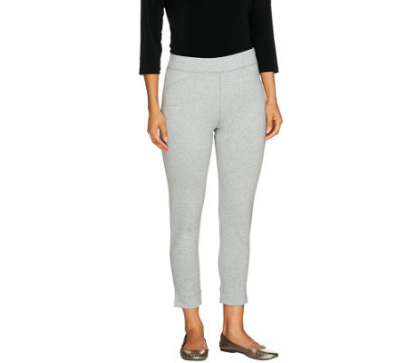 Liz Claiborne New York Petite Ponte Knit Leggings