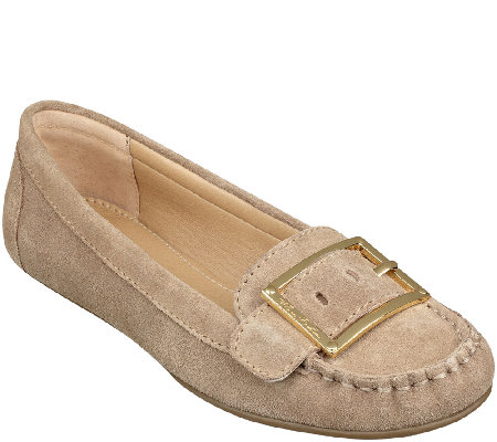 Marc Fisher Leather Moccasins - Channary