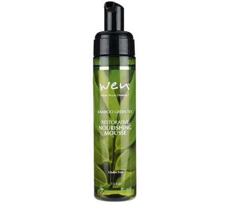WEN by Chaz Dean Nourishing Mousse w/Rice Protein 7.5 oz.