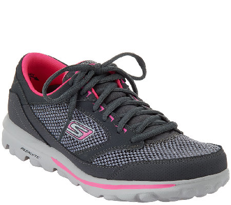 Skechers GOwalk Lace-up WalkingSneakers - Verve