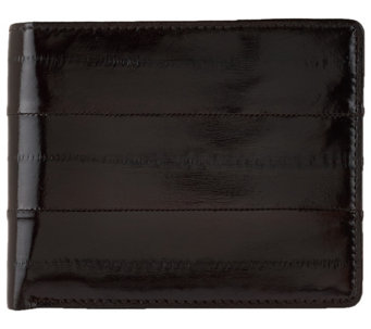 Lee Sands Eelskin BiFold Wallet with RFID Protection - A274129