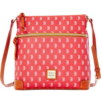 Dooney & Bourke MLB Red Sox Crossbody - A280029