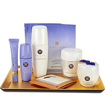 TATCHA 7-Piece Timeless Ritual Collection with Gold Obon Tray - A282829