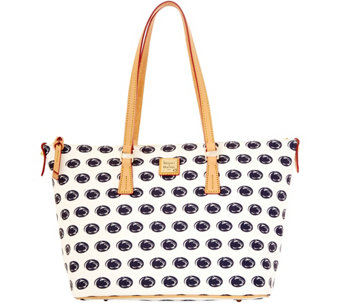 Dooney & Bourke NCAA Penn State University Zip Top Shopper - A283229