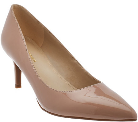 """As Is"" Marc Fisher Pointed Toe Mid-heel Pumps - Milee"