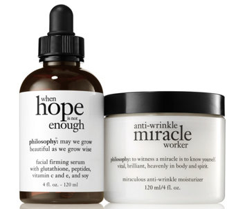 philosophy super-size hope & miracle skin duo Auto-Delivery - A290429