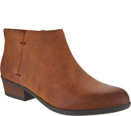 Clarks Leather Ankle Boots - Addiy Zora