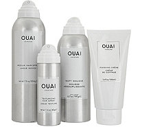 OUAI 4 Piece Styling Kit - A298329