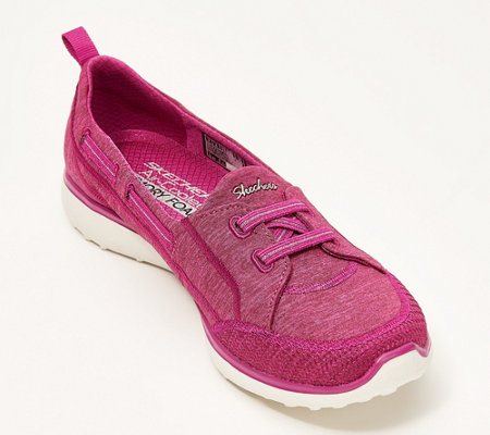Skechers Microburst Bungee Slip-On Shoes -Topnotch