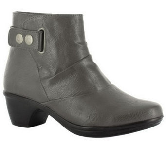 Easy Street Ankle Boots with Strap Detail - Wynne - A330129
