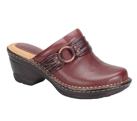 Softspots Linore Leather Clogs