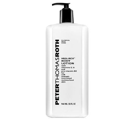 Peter Thomas Roth Super-Sized Mega-Rich Body Lotion, 32 oz