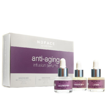 NuFACE Anti-Aging Infusion Serums Trio Pack - A335029