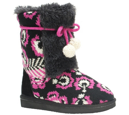 MUK LUKS Girl's Jewel Boots