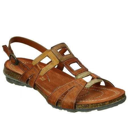 Napa Flex by David Tate Leather Sandals - Lux