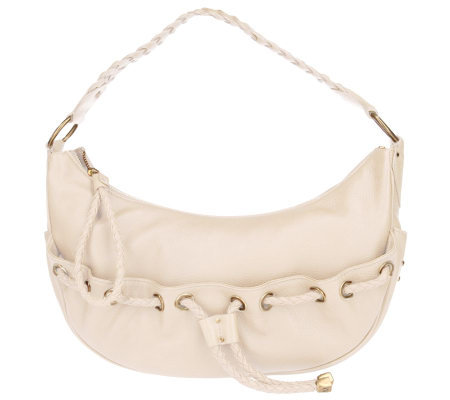 MICHAEL Michael Kors Woodside Leather Hobo Bag - Page 1 — QVC.com