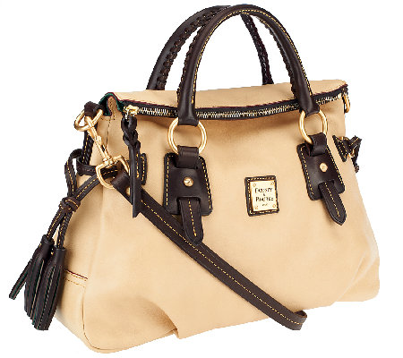 Dooney & Bourke Florentine Leather Stanwich Satchel