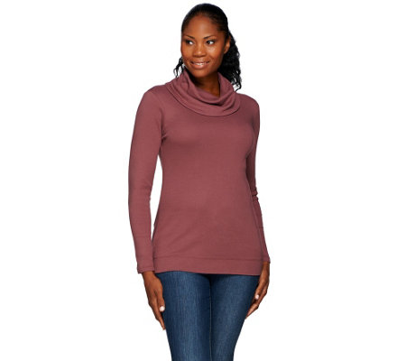 Liz Claiborne New York Essentials Cowl Neck Tunic