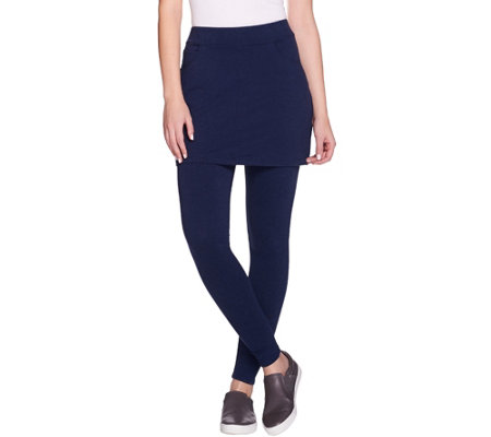 Legacy French Terry Ankle Length Skirted Leggings
