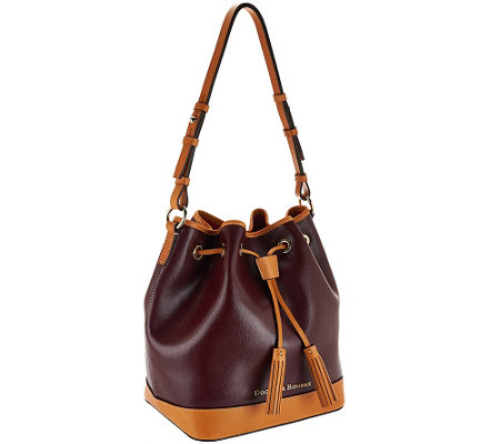 """As Is"" Dooney & Bourke Claremont Leather Drawstring"