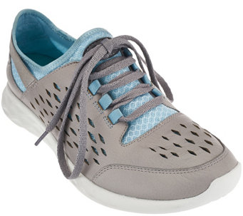 Clarks Outdoor Leather Lace-up Sneakers - Seremene Lace - A271830