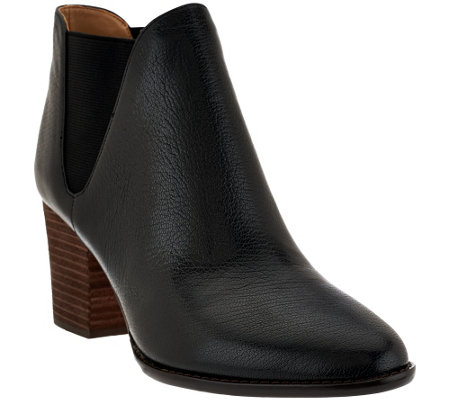 """As Is"" G.I.L.I Leather Chelsea Boots - Baldwyn"
