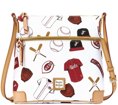 Dooney & Bourke MLB Reds Crossbody