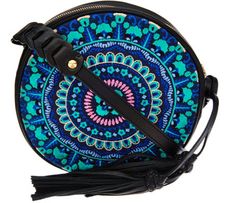 orYANY Embroidered Canteen Bag- Naomi