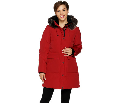 Arctic Expedition Women's Quilted Down Coat - Page 1 — QVC.com