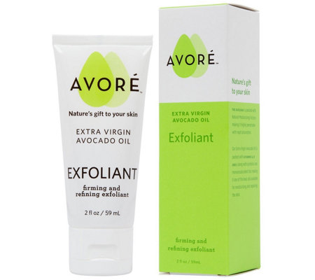 AVORE Extra Virgin Avocado Oil Exfoliant, 2 floz
