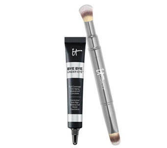 IT Cosmetics Bye Bye Under Eye Concealer with Collagen & Brush - A211531