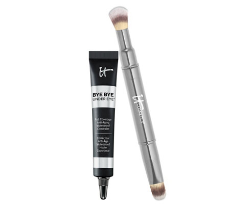 IT Cosmetics Bye Bye Under Eye Concealer with Collagen & Brush