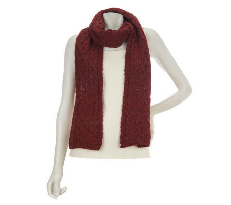 Kilronan Honeycomb Cable Scarf