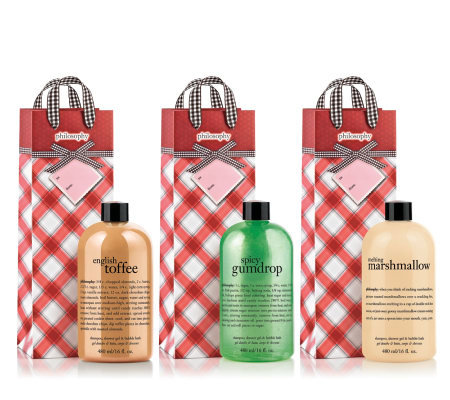 philosophy candy collection 3-in-1 gel trio 16 oz.