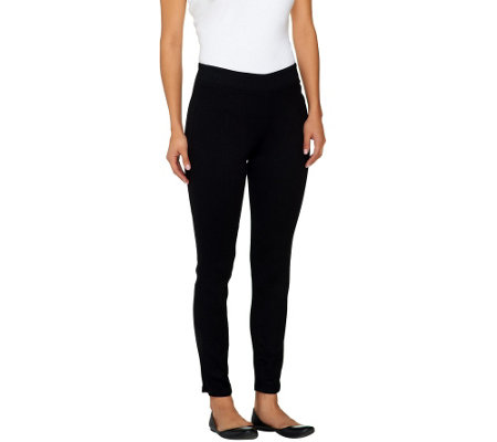 Denim & Co. Petite Super Stretch Pull-on Leggings