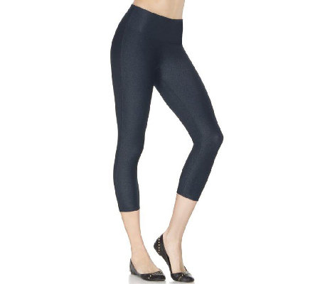 Spanx Denim Wash Capri Leggings
