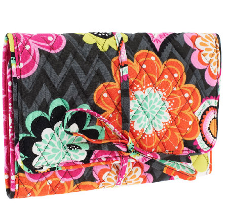 Vera Bradley Signature Print All Wrapped Up Jewelry Roll