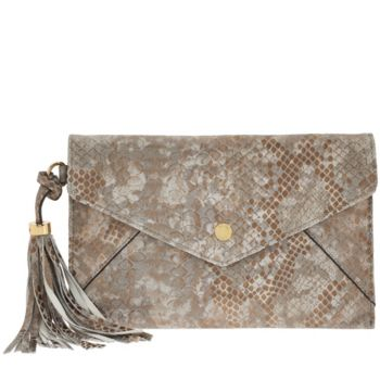 Isaac Mizrahi Live! Nolita Leather Envelope Pouch