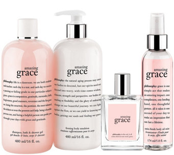 philosophy layer with grace and love 4 pc collection Auto-Delivery - A272331