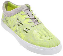 Clarks Somerset Knitted Lace-up Sneakers - Glove Glitter - A274731