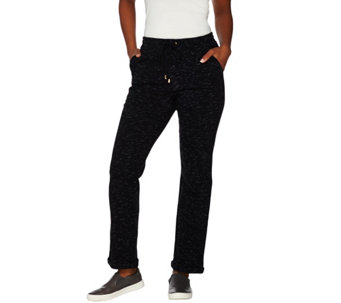 C. Wonder Pull-On Lounge Pants with Tie Waist - A275831