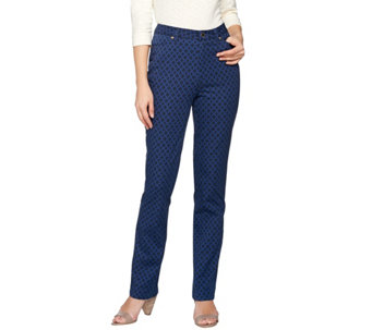 C. Wonder Trellis Print Slim Leg Full Length Pants - A276231