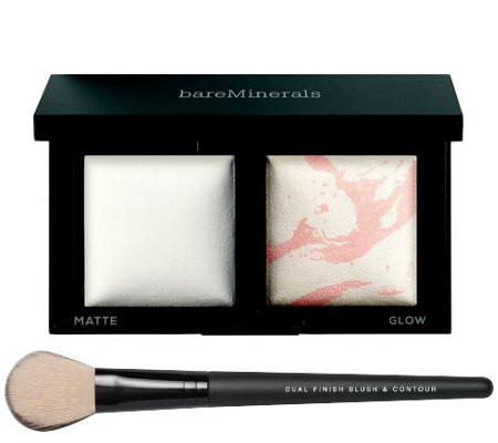 bareMinerals Invisible Light Translucent Powder Duo with Brush