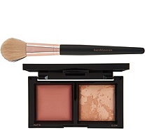 bareMinerals Warm Light Dimensional Powder Duo with Brush - A278731
