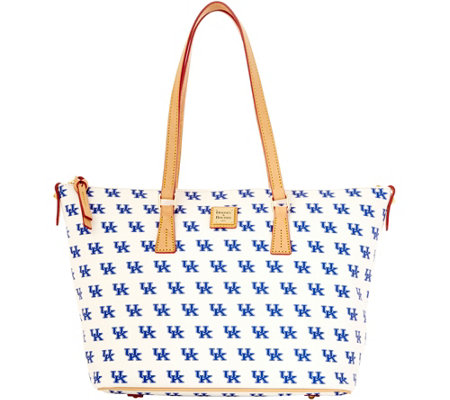 Dooney & Bourke NCAA University of Kentucky Zip Top Shopper