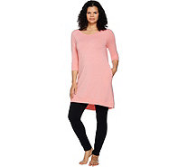 AnyBody Loungewear Cozy Knit Sleep Shirt - A289831