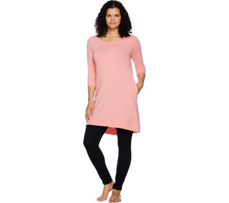 AnyBody Loungewear Cozy Knit Sleep Shirt